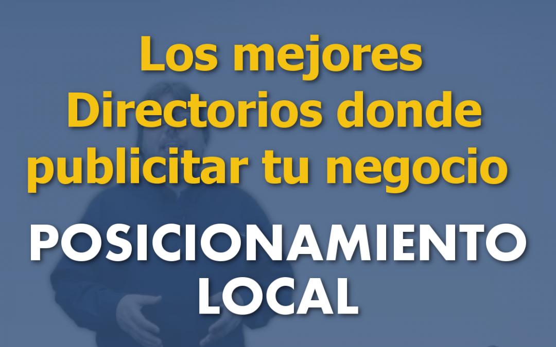 Los mejores directorios donde publicitar tu negocio local