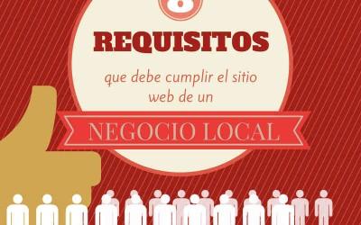 8 Requisitos que debe cumplir el sitio web de un pequeño negocio local