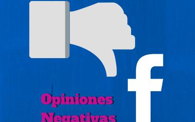 Crisis en tu negocio: cómo manejar las opiniones negativas en facebook